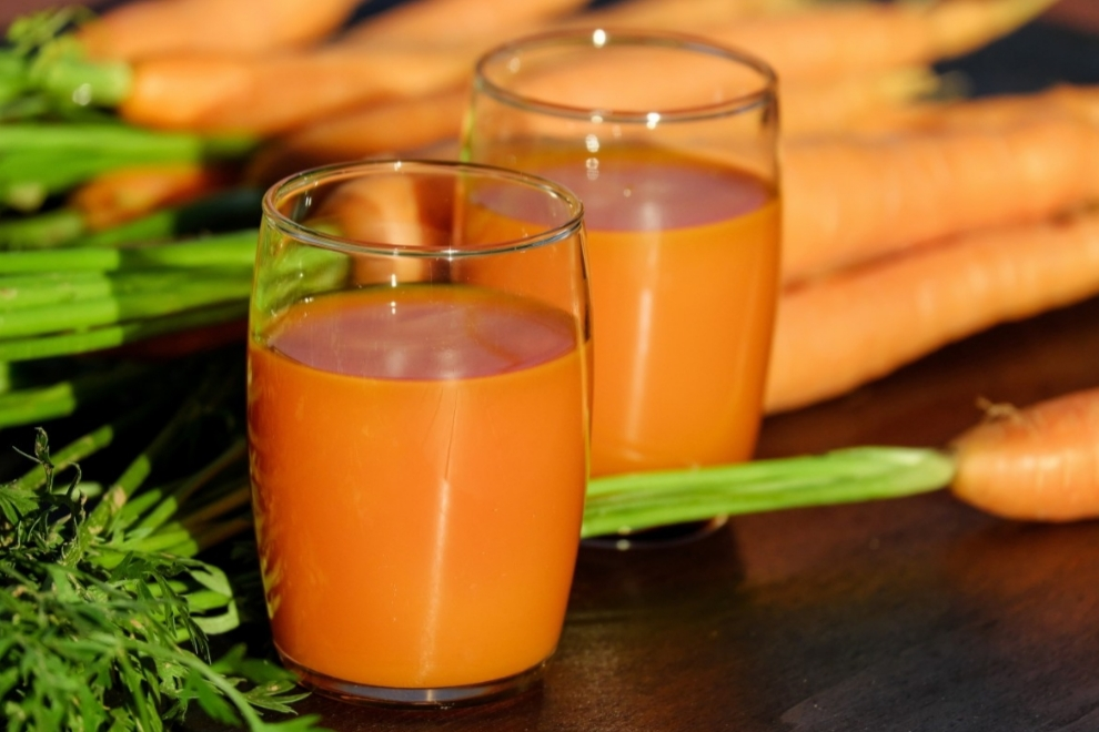 carrot smoothie hyperyension