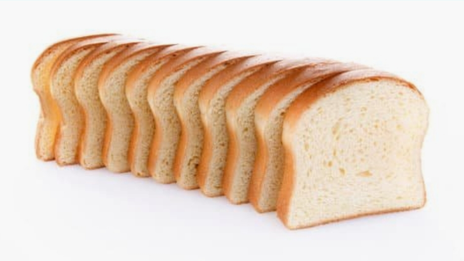 white bread is high carb